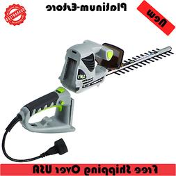 18 Inch 2.8 Amp Corded Electric 2 in 1 Pole Hand-held Hedge