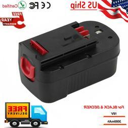 For BLACK & DECKER 18V 18 Volt HPB18 Slide Battery NiMh HPD1