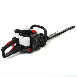 2-Cycle Double-Sided Blade Gas Hedge Trimmer 26CC Recoil Gas