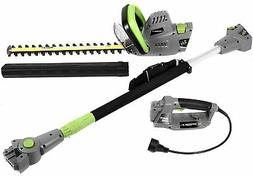 Earthwise 2-in-1 Corded Electric Convertible Pole Hedge Trim