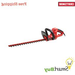"""Craftsman 20"""" 4.2 amp Electric Corded Hedge Trimmer Easy Cut"""