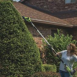 Earthwise 20in. 20 Volt Cordless Pole Hedge Trimmer