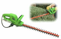 "22"" Electric Hedge Trimmer Lightweight Dual-Edged Garden Sha"