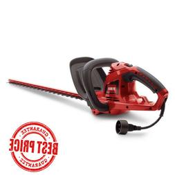 22 in 4 Amp Electric Hedge Trimmer Cord-Lock Dual Action Cor