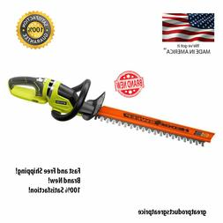 Ryobi 22 in. Cordless Electric Hedge Trimmer Lithium Ion Han