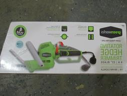 Greenworks 22122 4 Amp 22-in Dual Action Electric Hedge Trim