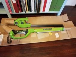 """Greenworks 2300002 20"""" 24V Cordless Pole Hedge Trimmer NO BA"""