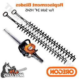 "24"" Hedge Trimmer Blade Set for Stihl HS45 replaces 4228-710"