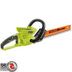 Ryobi 24 in. 40-Volt Lithium-Ion Cordless Hedge Trimmer - Ba