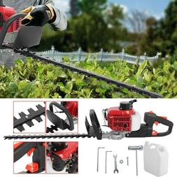 """26cc 2Cycle Gas Hedge Trimmer 24"""" Double-Sided Blade Recoil"""