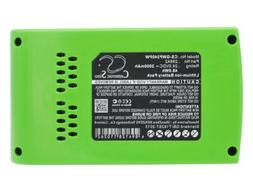 29322 Battery for GreenWorks G24   G-24  22-Inch Cordless He