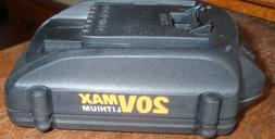 3-#WA3520 WORX 20V 1.5 ah Lithium Batteries for Trimmer, Hed