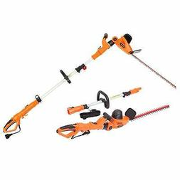 Garcare 4.8A Multi-Angle Corded 2 in 1 Hedge Trimmer with 20