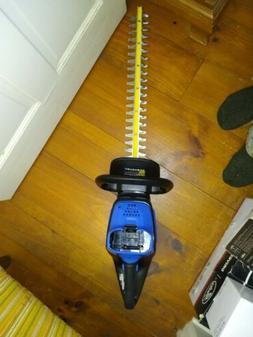 """Kobalt 40 Volt Max 24"""" Dual Cordless Hedge Trimmer  40V"""