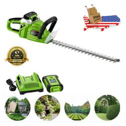40V Max High Performance Cordless Hedge Trimmer 20'' 2.0AH W