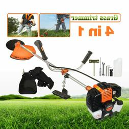 52cc 2 Cycle 4 in 1 Petrol Hedge Trimmer Gas Grass Strimmer
