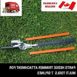 7 teeth hedge trimmer attachment pole lawn