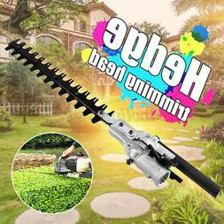 9 Teeth 17'' Pole Hedge Trimmer Trimming Head Attachment Bus