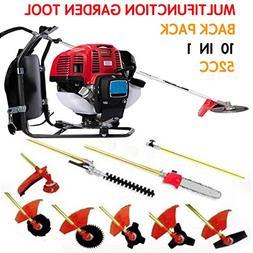 CHIKURA Backpack 10 in 1 Multi garden Brush Cutter whipper s
