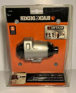 BLACK+DECKER BDCMTI Matrix Impact Driver Attachment