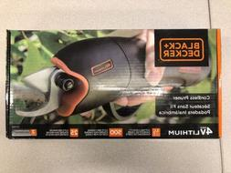 Black & Decker Cordless Pruner with Lithium Battery BD1168