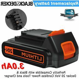 For Black & Decker LBX20 LBXR20-OPE 40Wh 20V Max LITHIUM Bat