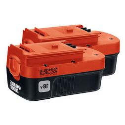 BLACK+DECKER 18V NiCd Battery for Outdoor Power Tools  - HPB