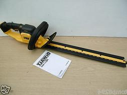 BRAND NEW DEWALT 18V XR DCM563 55CM HEDGE TRIMMER BARE UNIT