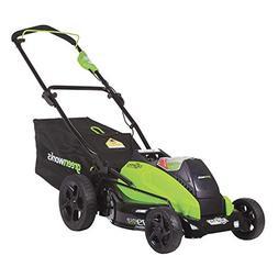 19-inch 40v brushless cordless lawn mower, 4.0 ah & 2.0 ah b