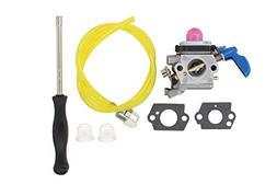 """MOTOKU Carburetor Tune-up Carb kit for Poulan PP2822 22"""" Gas"""
