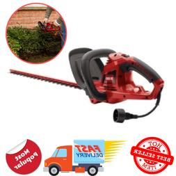 corded 22 in 4 amp electric hedge