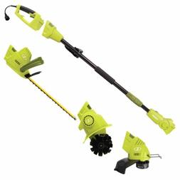 Corded Electric Lawn Garden Multi-Tool System Hedge Pole Gra