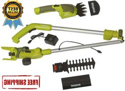 Cordless Electric Grass Shears Hedge Trimmer for Small Jobs