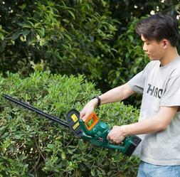 cordless electric hedge trimmer 20 dual steel
