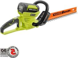 Cordless Hedge Trimmer Battery Power No Gas Dual 24 in. Ryob
