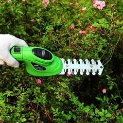 Cordless Electric Hedge Trimmer Grass Cutter Mini Lawn Mower