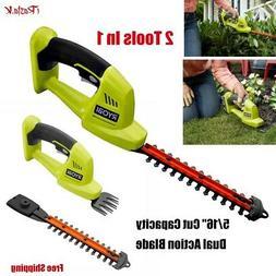"Ryobi Cordless Hedge Trimmer Grass Shear Shrubber 5/6"" 18V L"