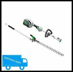 EGO Cordless Hedge Trimmer Kit Power Head Battery Charger 20