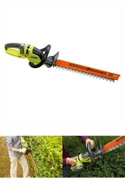 Cordless Hedge Trimmer Lithium-Ion 22in Battery Powered Ligh