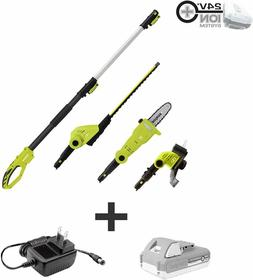 Cordless Landscaping Tools Hedge Trimmer Pole Saw Grass Trim
