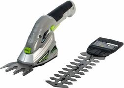 Earthwise Cordless Rechargeable 2-in-1 Shrub Shear and Hedge