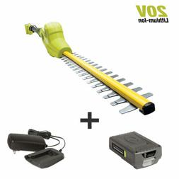 Sun Joe Cordless Telescoping Pole Hedge Trimmer