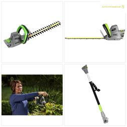 Earthwise CVPH43018 Corded 4.5 Amp 2-in-1 Convertible Pole H