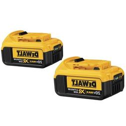 Dewalt DCB204-2 20V MAX XR 4 Ah Lithium-Ion Battery