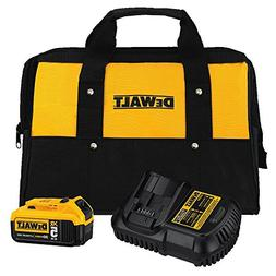 Dewalt DCB205CK 20V MAX 5.0 Ah Lithium-Ion Battery Kit with