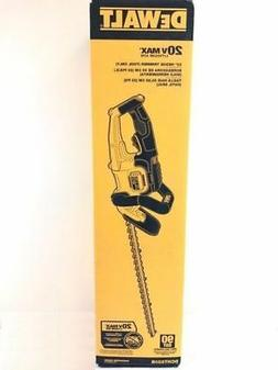 DeWALT DCHT820B 20V MAX Lithium Ion 22 Hedge Trimmer Bare