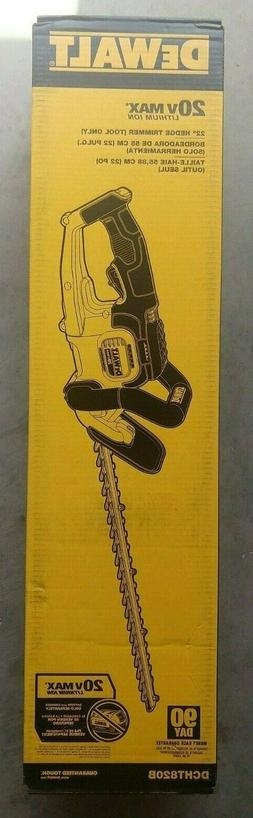 Dewalt DCHT820B Hedge Trimmer 20V Max - BARE TOOL - NEW !!!!