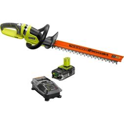 Ryobi Double-sided Cordless Hedge Trimmer 22 in. 18V.
