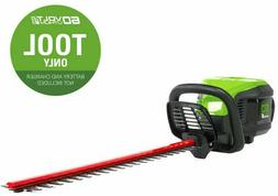 Greenworks Pro Dual Cordless Hedge Trimmer 60-volt 24-in