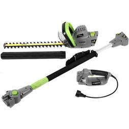 Electric 2 in 1 18 in Multi-Tool Pole/Hedge Trimmer 4.5 Amp